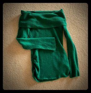 Off Shoulder Sweater / Sweater Dress